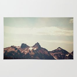 Mountain Ridge Morning Rug