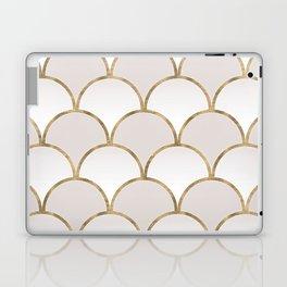 Golden Chinese Pattern Laptop & iPad Skin
