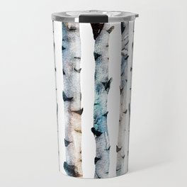 New Birch Trees Forest Travel Mug
