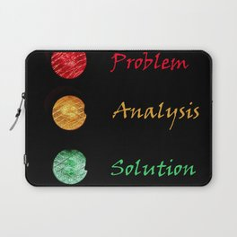 traffic lights problem analysis solution Laptop Sleeve