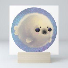 Chonky Seal Mini Art Print