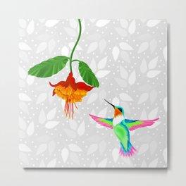 Fantasy Hummingbird #2 Metal Print