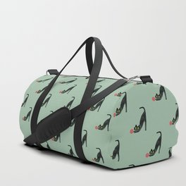 Fitz - the curious cat Duffle Bag