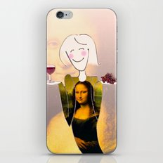 She Hearts Mona iPhone & iPod Skin