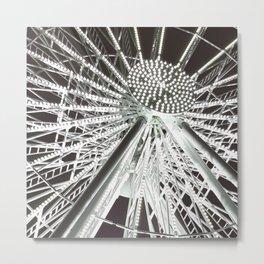 The big wheel Metal Print