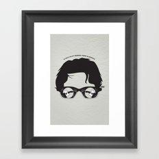 00Q Framed Art Print