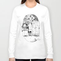 couple Long Sleeve T-shirts featuring Couple by Mono Ahn