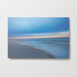Painted Beach 2 Metal Print