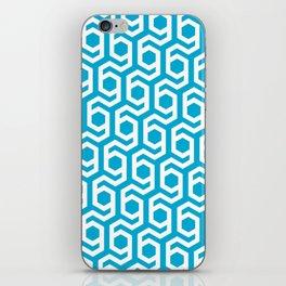 Modern Hive Geometric Repeat Pattern iPhone Skin