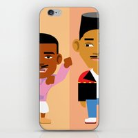 fresh prince iPhone & iPod Skins featuring The Fresh Prince by Evan Gaskin