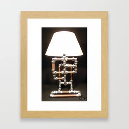 Articulated Desk Lamps - Copper and Chrome Collection - FredPereiraStudios_Page_07 Framed Art Print
