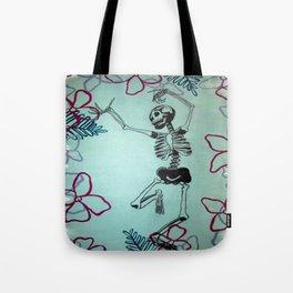 Dancing Bones Tote Bag
