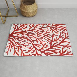 Red Coral Rug