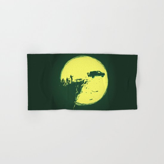 Zombie Invasion Hand & Bath Towel