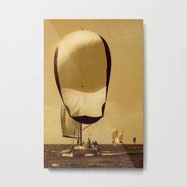 firnst in sailrace Metal Print