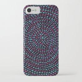 Circular Mosaic iPhone Case