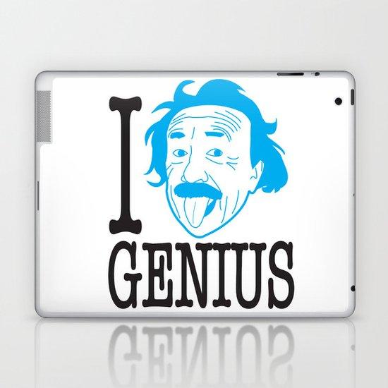 I __ Genius Laptop & iPad Skin