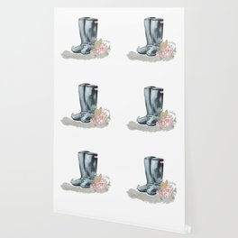 Spring Rain Boots Wallpaper