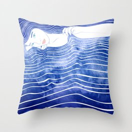 Water Nymph LXVI Throw Pillow