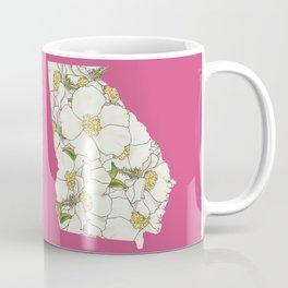 Georgia in Flowers Coffee Mug