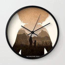 Clementine (TWD) Wall Clock