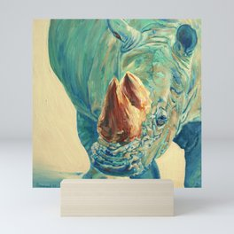 Otto, Rhinoceros Mini Art Print