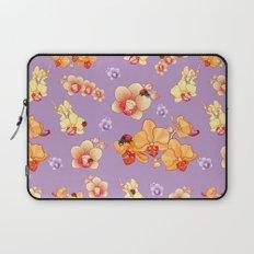 Orchids & Ladybirds Laptop Sleeve