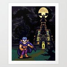 Magus Castle w/Magus Art Print