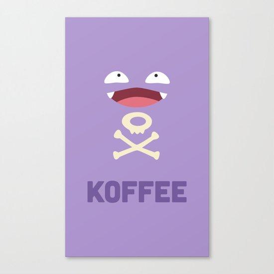 Koffee Canvas Print