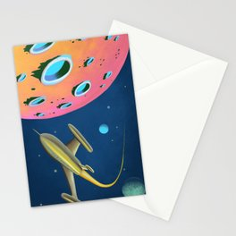Fantastic Adventures in Outer Space Stationery Cards