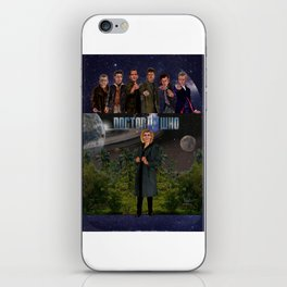 Seven Doctors iPhone Skin