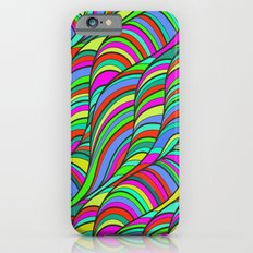 waves of colors  Slim Case iPhone 6s