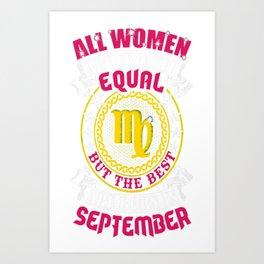 Best-Women-Born-In-September-Virgo---Sao-chép Art Print