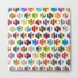Nintendo 64 pattern Metal Print