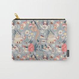 Tea Spirit pattern Carry-All Pouch