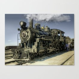 Engine 40 - Ghost Canvas Print