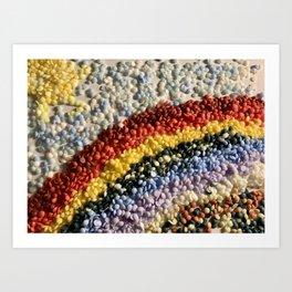 A Rainbow of Sprinkles (an experiment) Art Print
