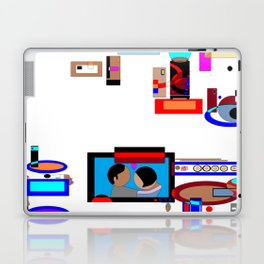 A Dinner and a Movie with Technology Laptop & iPad Skin