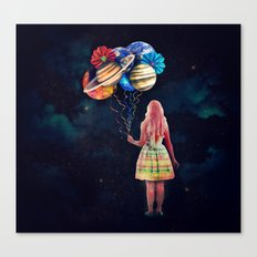 The Guardian of the Galaxy Canvas Print