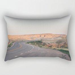 Road to the Badlands Rectangular Pillow