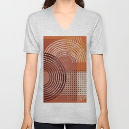 Natural Geometry  VI Unisex V-Neck