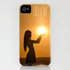 Believe iPhone (4, 4s) Slim Case