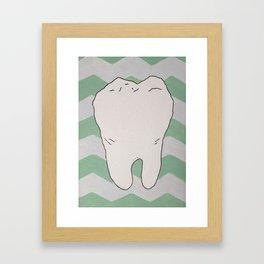 Tooth Framed Art Print