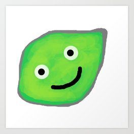 Happy Lime for a Happy Time Art Print