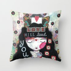 Love Will Lead You Home Throw Pillow