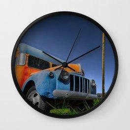 Magic Bus Wall Clock