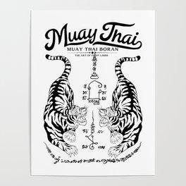 Muay Thai Tattoo Poster