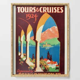cartel Dean & Dawson Tours Cruises Serving Tray