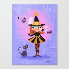 Lilly Witch Canvas Print
