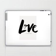 Love is a Beautiful Chaos Laptop & iPad Skin